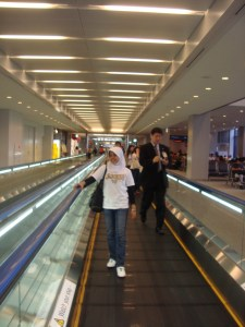 At Narita Int'l Airport